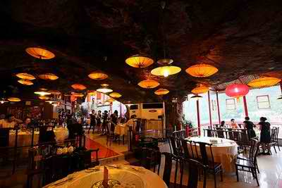 Đẹp kỳ lạ nhà hàng treo Fangweng ở Trung Quốc, khám phá, địa điểm độc đáo, địa điểm ăn uống 365