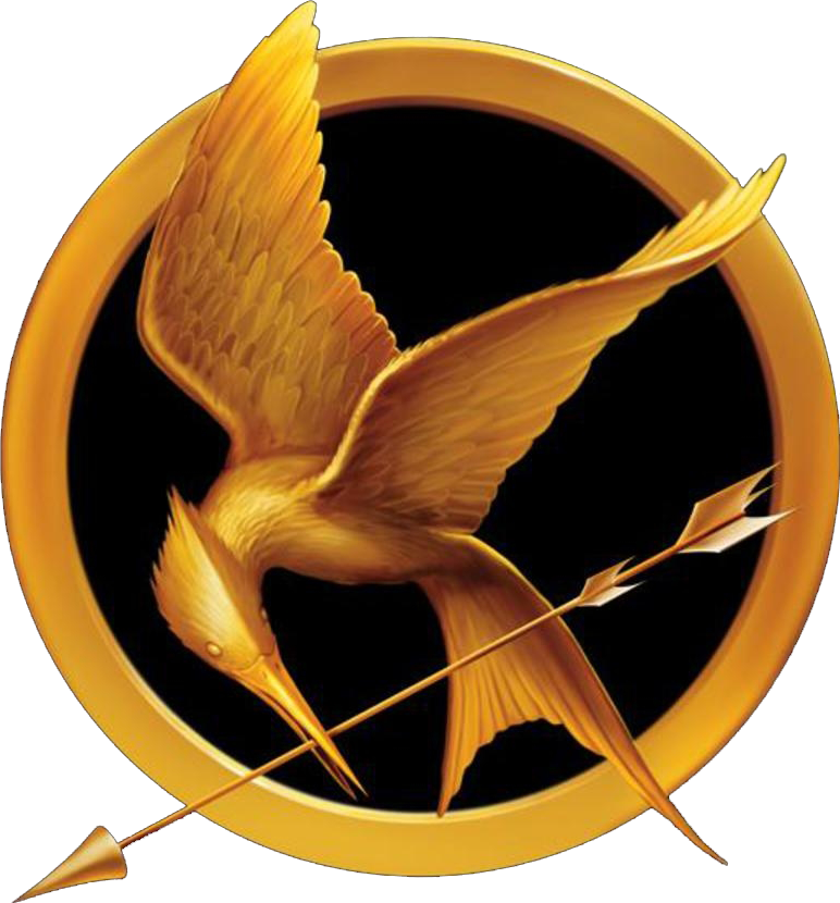 hunger games logo amp symbol