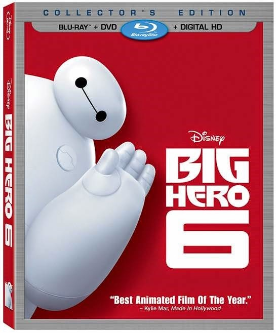 Big Hero 6 box art