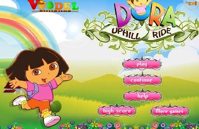 Dora Exploradora juego bicicleta