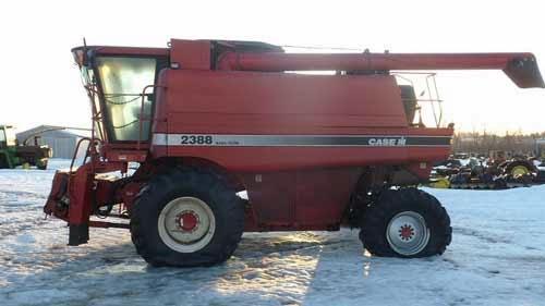 Case IH 2388 combine parts