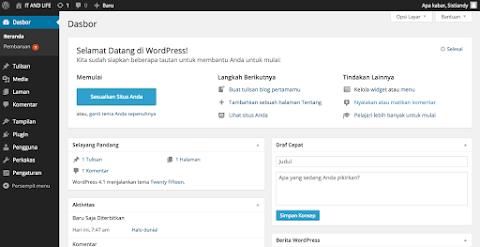 Cara memasang thema wordpress