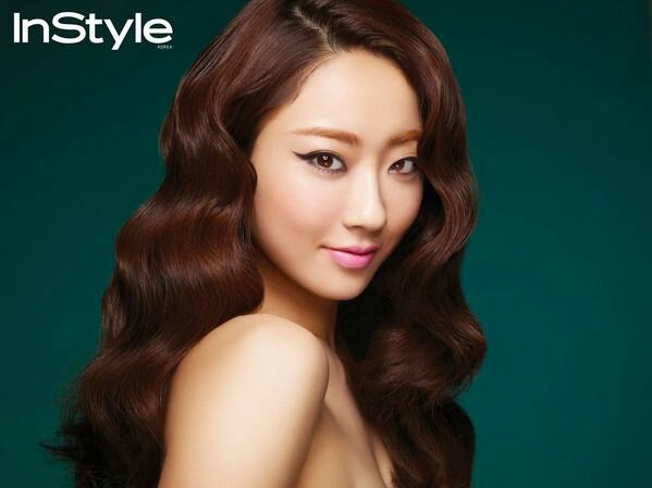 Kyungri Nine Muses InStyle March 2014
