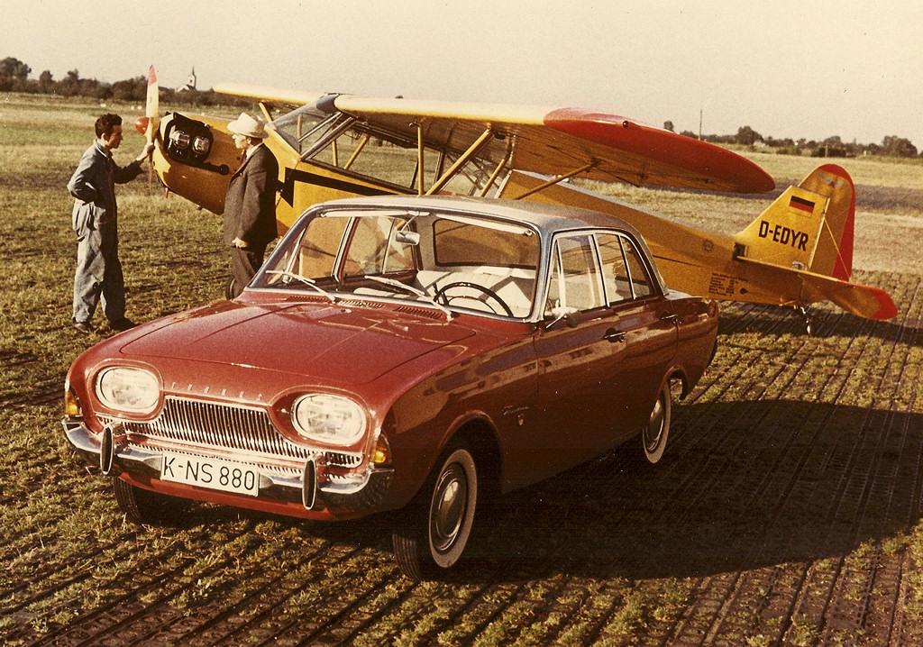 1960 Cars Ford Taunus (P3) 17 M & Avengers in Time: 1960 Cars: Ford Taunus (P3) 17 M markmcfarlin.com