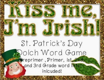 https://www.teacherspayteachers.com/Product/St-Patricks-Day-Dolch-Word-Game-Preprimer-3rd-Grade-Word-Lists-1713825