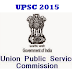 UPSC Exam 2015 Timetable Datesheet Schedule