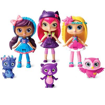TOYS : JUGUETES - Little Charmers  Posie - Hazel - Lavender | Pack 3 Figuras - Muñecos  Producto Oficial 2015 | SpinMaster | A partir de 3 años  Comprar en Amazon España & buy Amazon USA