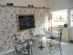 My crochet workshop will be help in the cute Vintage Retreat tearooms