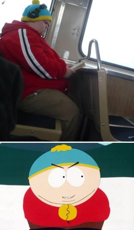 15 Orang yang Mirip Tokoh Kartun: Eric Cartman