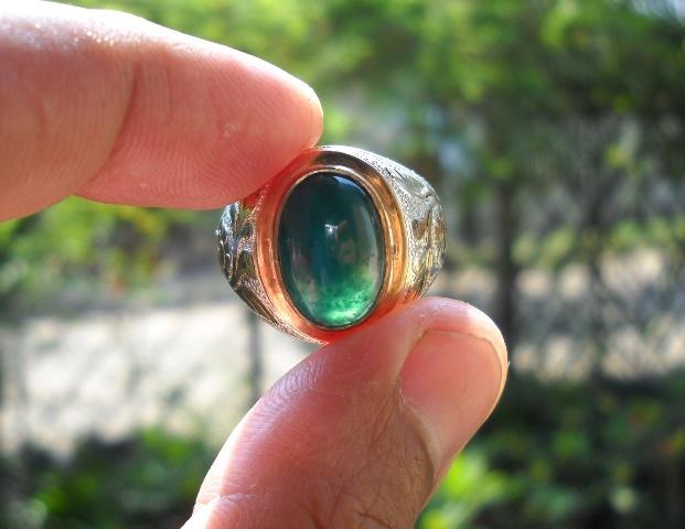 AG96- Batu Garut Hijau Kristal ... Manis Sekali !!!_SOLD