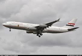 Egypt Official Presidential Plane