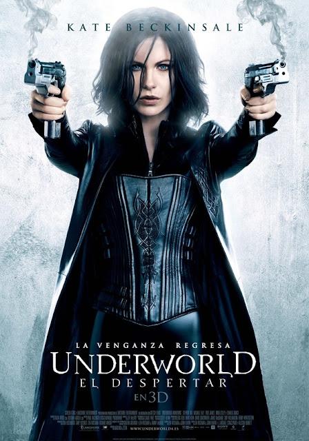Cartel película Underworld el Despertar