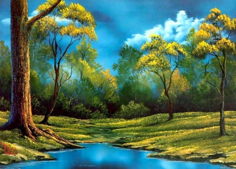 serie de paisajes de ucbob rossud el pintor del paisaje natural