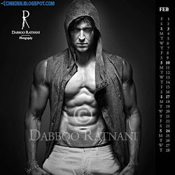 Hrithik Roshan on Dabboo Ratnani 2013 Calendar Hot Celebrities Photoshoot Stills