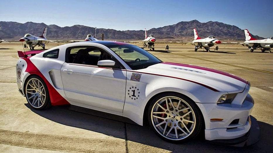 News - US Air Force Thunderbirds Edition Ford Mustang GT brings $398,000
