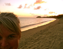 Sunset in Fiji