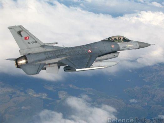 F-16 Turki Tembak Jatuh Pesawat Sukhoi-24 Rusia