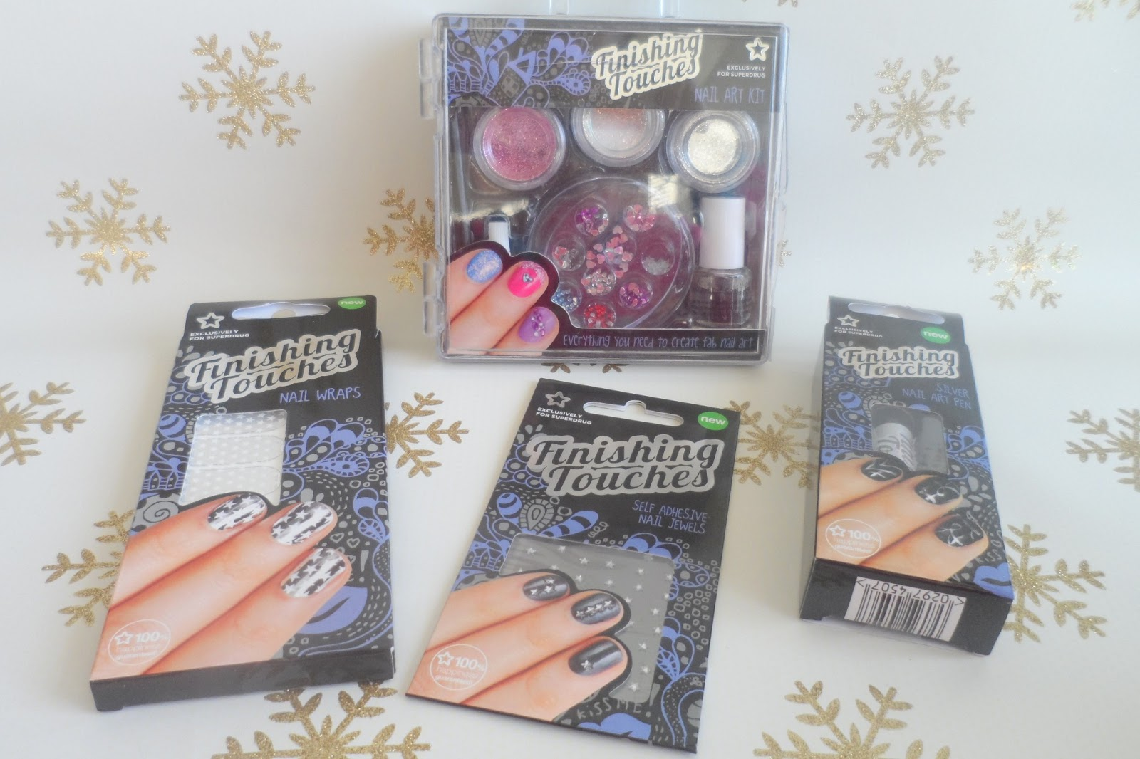 Finishing Touches nail art supplies from Superdrug | flutter and sparkle
