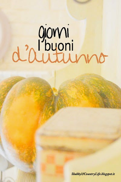 Tra vecchie patine e zucche.. My Autumn Decor Home