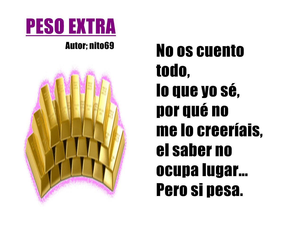 PESO EXTRA