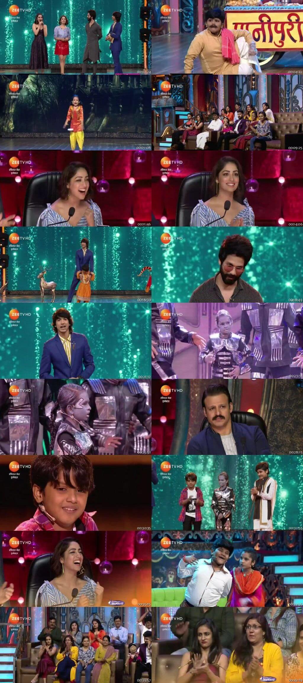 Screen Shot Of india's best dramebaaz 22nd September 2018 Episode 25 300MB Watch Online