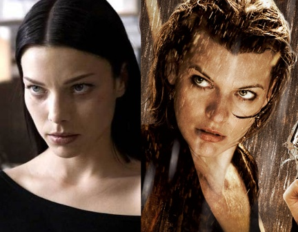 Lauren German and Milla Jovovich