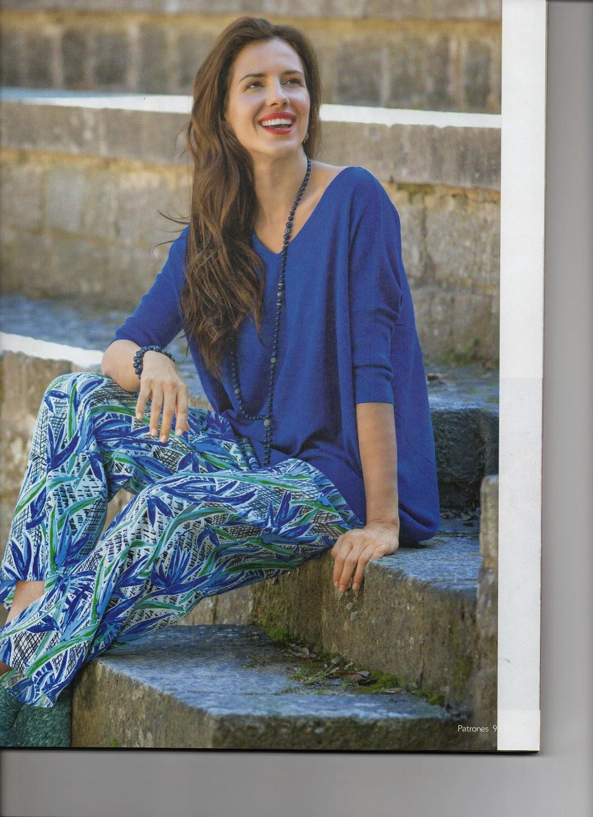 журнал по шитью с выкройками 2014