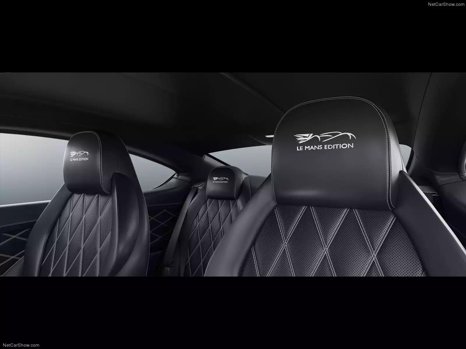 Hình ảnh xe ô tô Bentley Continental GT W12 Le Mans Edition 2014 & nội ngoại thất