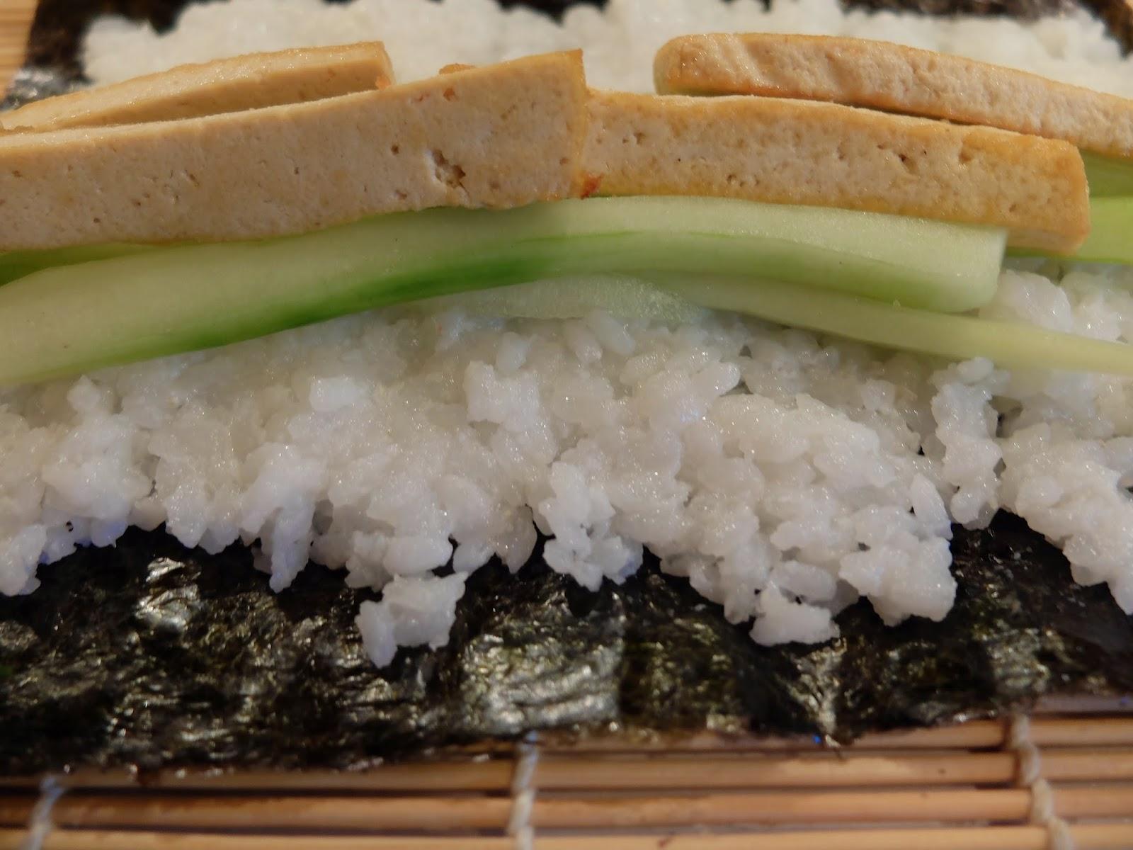 Futo-Maki Gurke Tofu