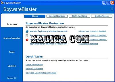 SpywareBlaster 4.5