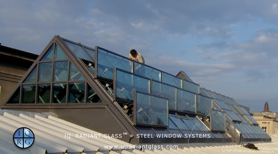 Stainless Steel Window & Door Systems for IQ Radiant Glass
