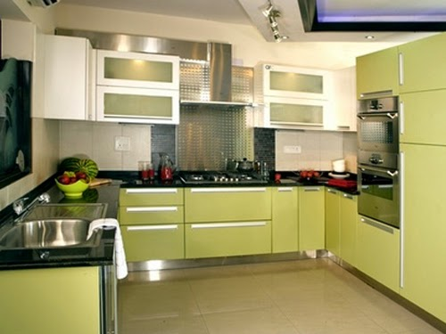German modular kitchens october 2014 for Sleek kitchen design ideas
