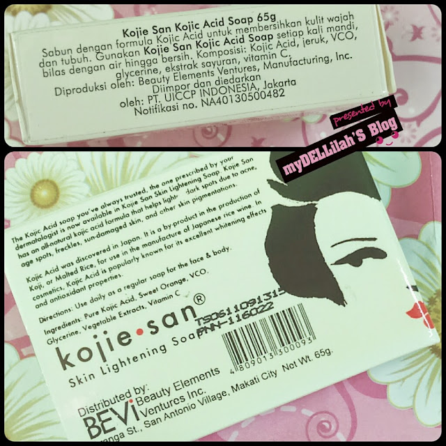 kandungan Kojiesan Skin Lightening Soap