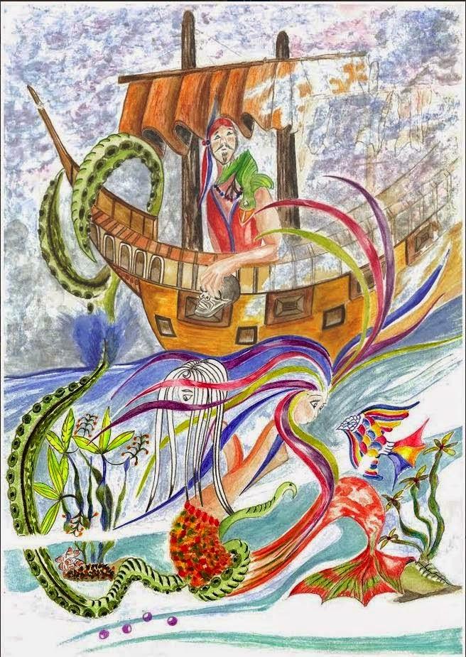 Mi portada  para el libro LA BRUMA.