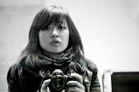 autoportrait dela chanteuse shooté backstage au Tamanoir