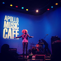 We here tonight are about soul&quot; @amandaseales holding it down. #apollomusiccafe http://instagr.am/p/Q08KcKyRYu/