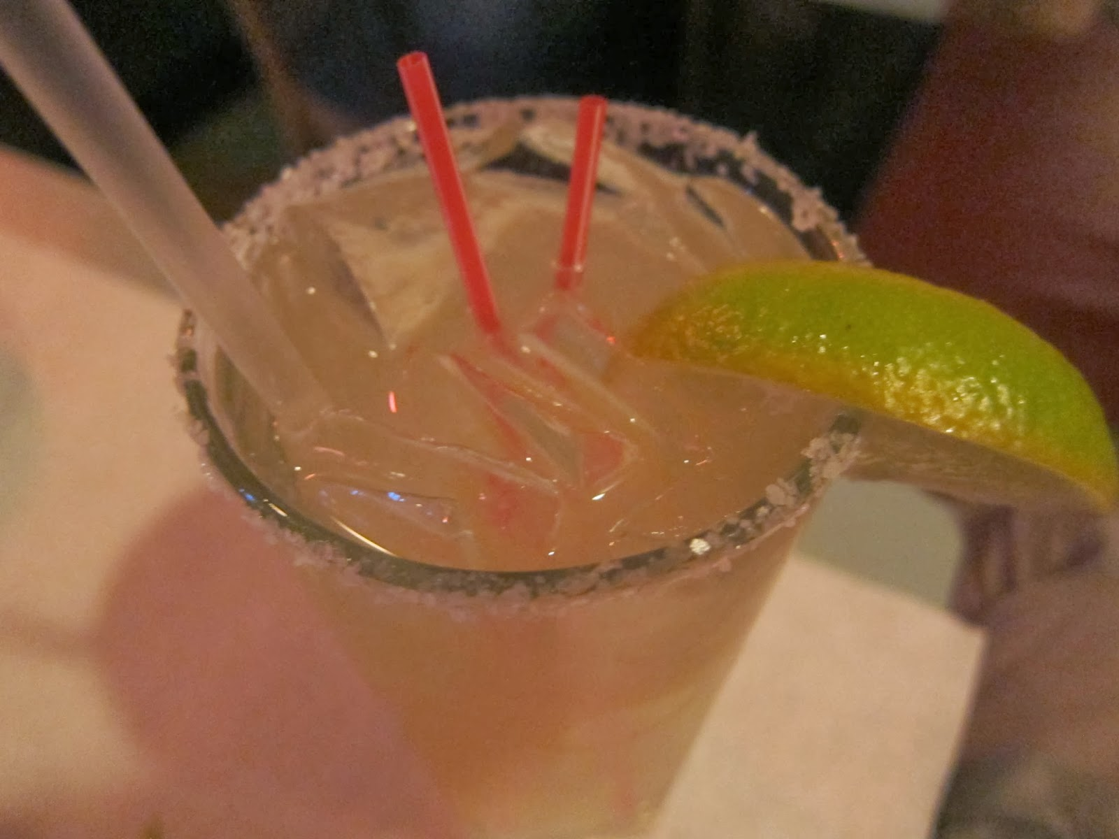 Tanteo Tequila margarita from Fajitas & 'Ritas | The Economical Eater