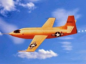 Bell X-1 band name explanation - Bell_X-1_supersonic-plane-color