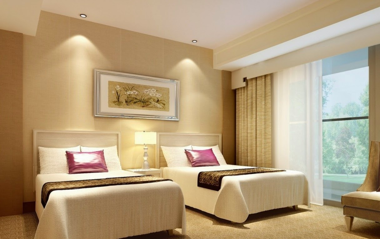 Hotel room design for Room interior images