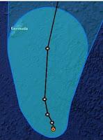 Hurrikan LESLIE: Hoffnung für Bermuda, Leslie, Bermudas, Atlantische Hurrikansaison, Atlantik, Hurrikansaison 2012, Vorhersage Forecast Prognose, September, 2012,