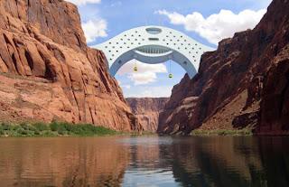Φουτουριστικό ξενοδοχείο-γέφυρα!