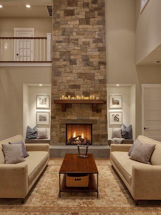 Dise o y decoraci n de la casa hermosos modelos de - Modelos de chimeneas decorativas ...
