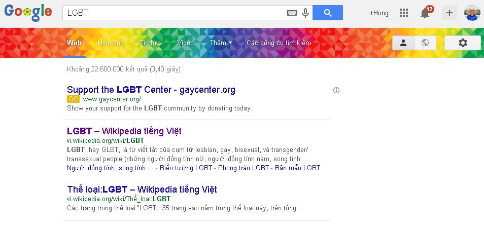 Google Và Cộng Đồng LGBT