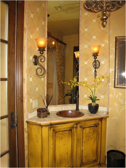 Old world bathroom design ideas room design ideas for Old world decorating ideas