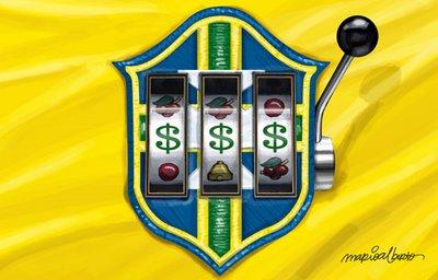 Botafogo joga às 15 horas porque hoje tem a Seleção dos Corruptos em campo