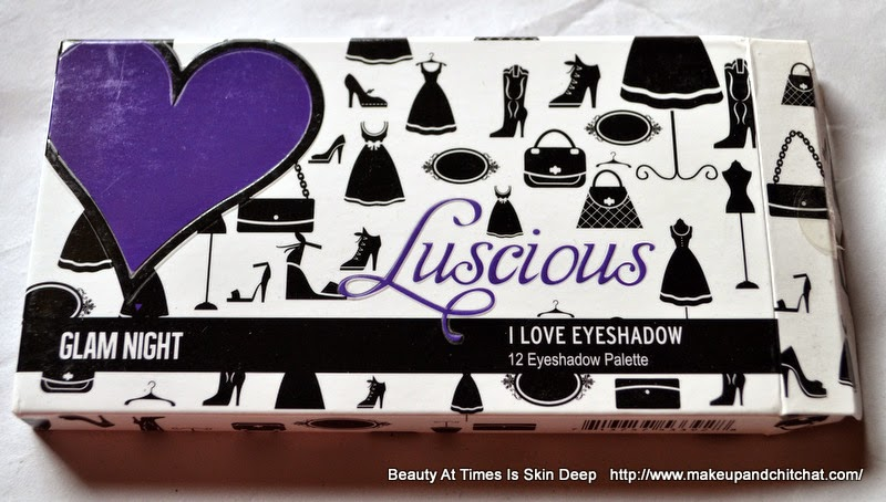 Luscious I love Eyeshadow Glam Night Palette
