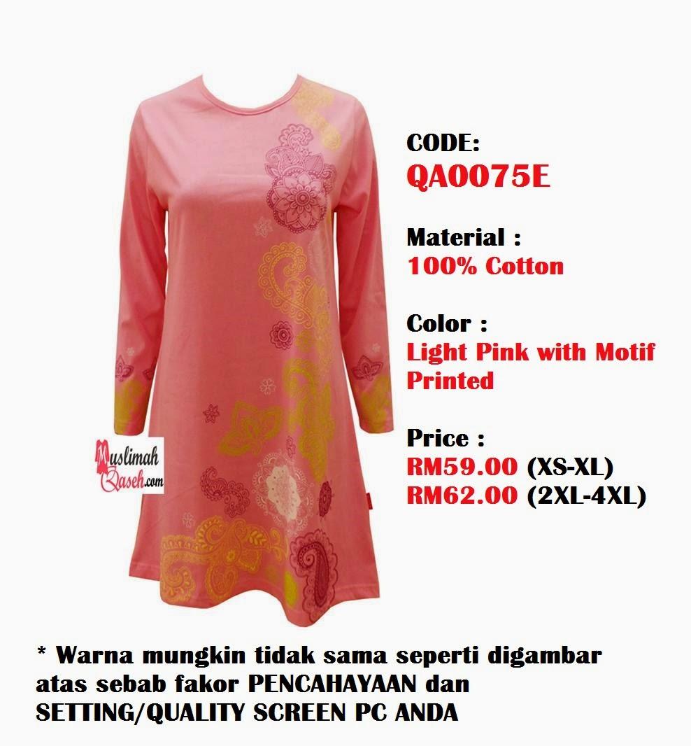 T-Shirt-Muslimah-Qaseh-QA0075E