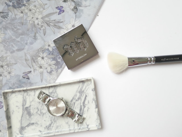 Perfect Brush and Beauty Matches urban decay afterglow powder blush zoeva