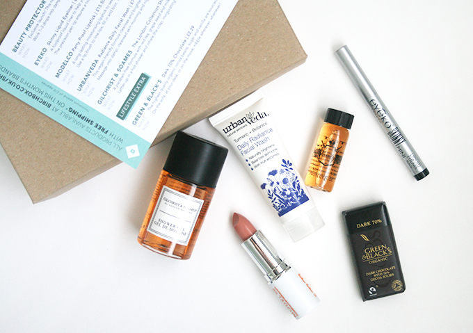 A photo of the February Birchbox 2014