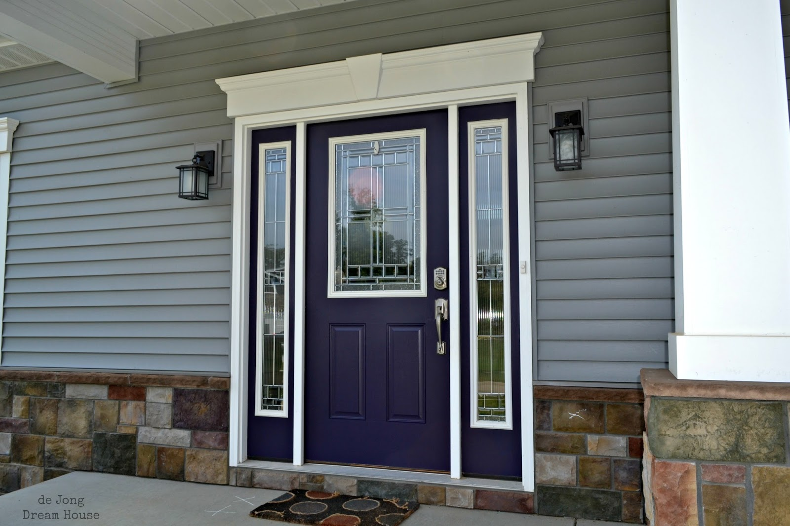 1066 #5E4D3C It's Really Interesting How The Color Changes Depending On The Time Of  wallpaper Purple Front Doors 47051600